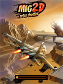 Mig 2D ~ Retro Shooter preview